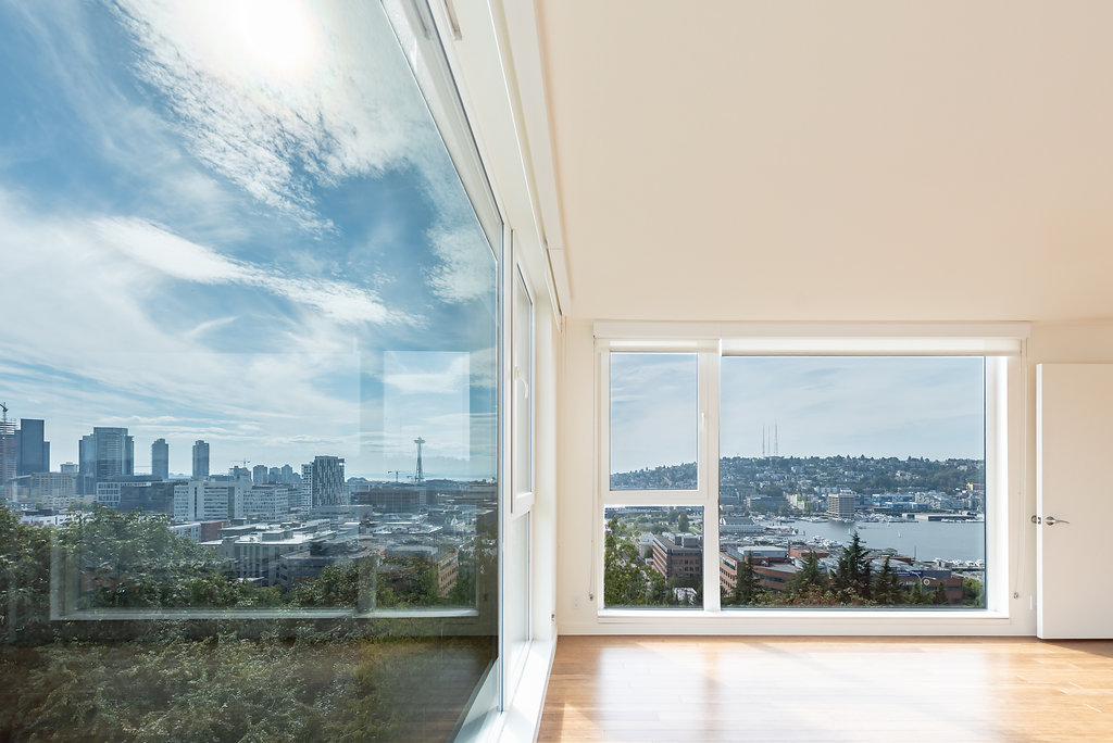 Ample Natural Lighting In Apartment Homes At Belroy Apartments In Seattle, WA
