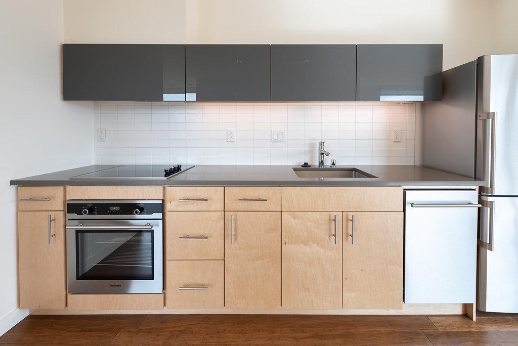 Modern Kitchens At Belroy Apartments In Seattle, WA
